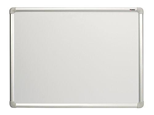 Dahle Whiteboard und Magnettafel Basic 96150 (mit Stiftablage, magnetisch, Alu-Rahmen, mit Montagematerial, Größe 60 x 45 cm) weiß lackiert