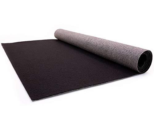 Schwarzer Teppich - Hochzeitsteppich - VIP Teppich - Eventtepich - Farbe Schwarz - 1,00m x 3,00m