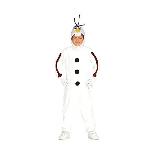 Gefrorene Kostüm Disney - Schneemann Olaf Kostüm für Kinder T-3/4 Jahre