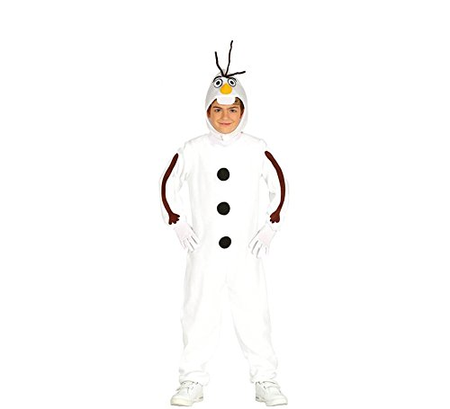 Schneemann Olaf Kostüm für Kinder T-3/4 - Olaf Kostüm Kind