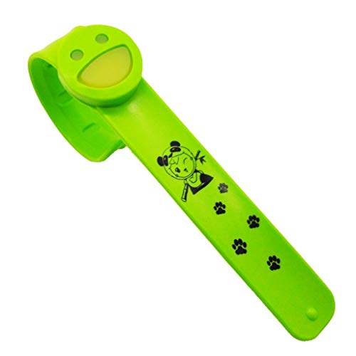 koperras Silikon Smiley Licht Und SchöNe Einfarbige Mode Wilde VitalitäT Sicherheit Ungiftig MüCkenschutz Armband Kinder Geschenk Ring
