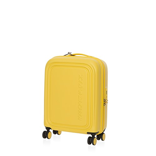 Mandarina Duck Logoduck+ Cabin Trolley Duck Yellow Bagaglio a Mano Giallo SZV5405J