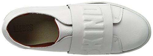 Liebeskind Berlin - Lf173180 Calf, Scarpe da ginnastica Donna Weiß (ivory White)