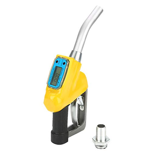Kraftstoffzähler-Düse, manuelle digitale Öldiesel-Kerosin-Benzin-Pistole mit Durchflussmesser
