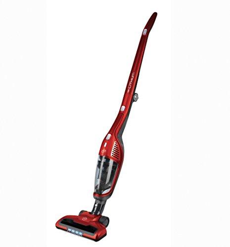 Daya Home Appliances VC-2932 Scopa elettrica e aspirabriciole Senza Fili, Rosso