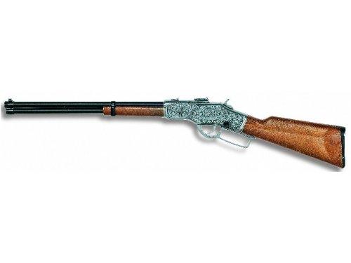 Simba Edison Giocattoli Jefferson: Spielzeuggewehr In Geschenke-Box Für Cowboys Und Sheriffs, Ideal Für Fasching, Für 13-Schuss-Munition, 81 Cm, Braun - Bauer Tops Kostüm