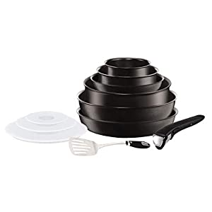 Tefal Seb Clipso essential 11 pieces black