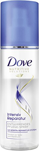 Dove Haarpflege Entwirrendes Pflegespray Intensiv Reparatur, 3er Pack (3 x 200 ml) (Dove Pflege Intensive)