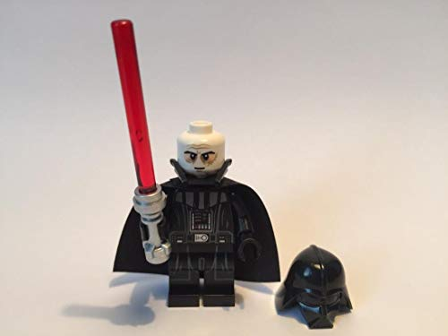 LEGO Star Wars Minifigur Darth Vader mit Laserschwert NEUE VERSION (TYP 2 Helmet) aus 75093 (Wars Lego Minifiguren-set Star)