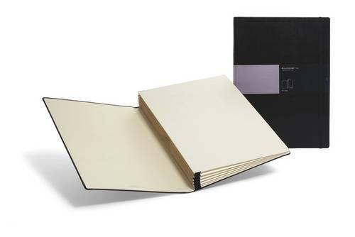 Moleskine Folio Professional / Portfolio / 6 Fächer bis Format A3 / Fester Einband / Schwarz -