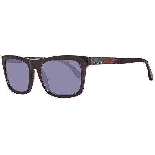 616a189ab1 Diesel Sonnenbrille DL0120 5486C, Montures de lunettes Mixte Adulte, Noir  (Schwarz),