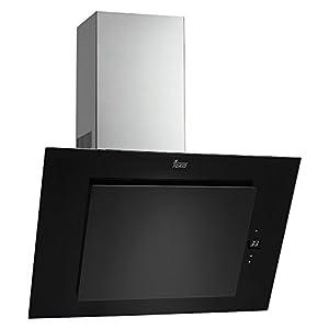 Teka DVT 685 De pared Negro 786m³/h A – Campana (786 m³/h, Canalizado/Recirculación, A, A, C, 52 dB), 41,8 x 60 x 78 cm