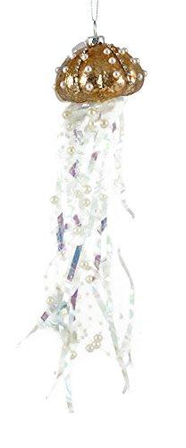 erlen Qualle Glas mundgeblasen Zum Aufhängen Ornament Bronze ()