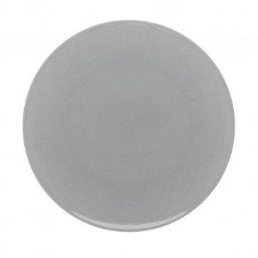 Lot de 6 assiettes plates rondes Modulo Color Gris Perle 29 cm