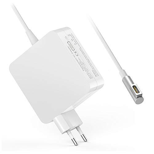 60w Apple (MacBook Pro Ladegerät,Ladegerät Netzteil Ladekabel Magsafe 1 60W L Adapter für Apple MacBook MacBook Pro, Kompatibel mit 13 Zoll MacBook Pro 2009, 2010, 2011, 2012, A1181, A1184, A1185, A1278, A1342)