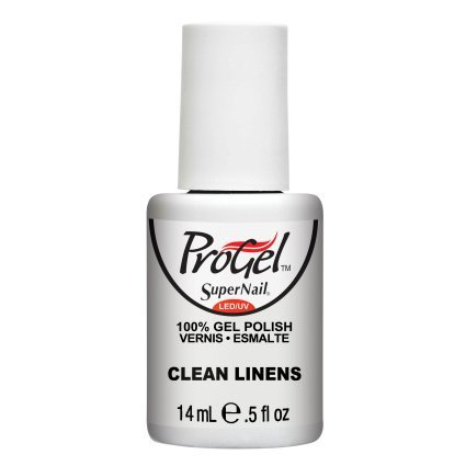 SuperNail ProGel LED/UV Vernis à Ongles - Clean Linens - 14ml