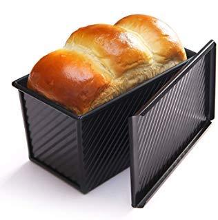 Pullman Loaf Pan (CHEFMADE Pullman Brottopf mit Deckel schwarz)