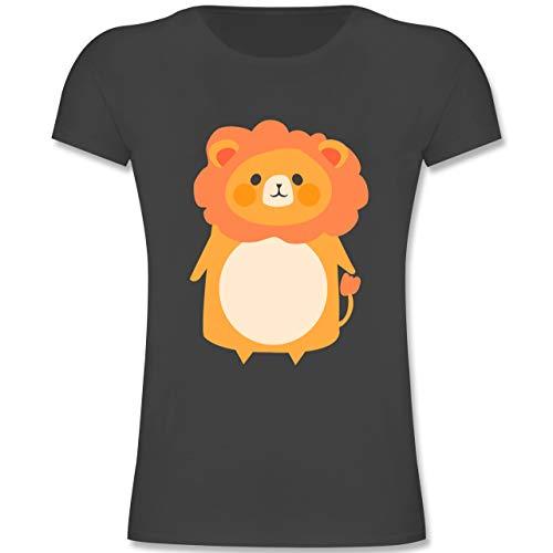 Kinder - Fasching Kostüm Löwe - 164 (14-15 Jahre) - Anthrazit - F131K - Mädchen Kinder T-Shirt ()