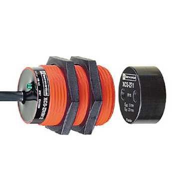 Schneider Electric XCSDMR7915 Dispositivo Magnético Seguro, Cilíndrico