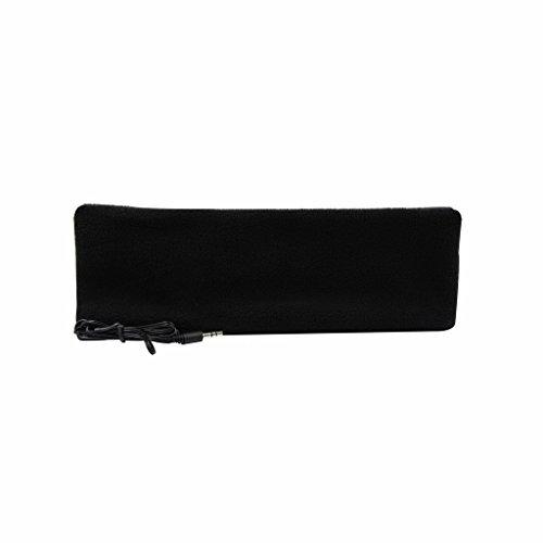 örer mit Stirnband, ultradünne Ohrhörer, besonders bequem, geeignet zum Einschlafen, für Flugreisen, die Arbeit, Sport oder bei Schlafproblemen Schwarz  ()