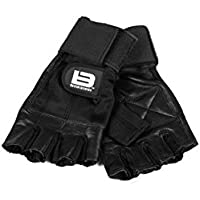 Better Bodies Gym Gloves 2in1 Black X-small