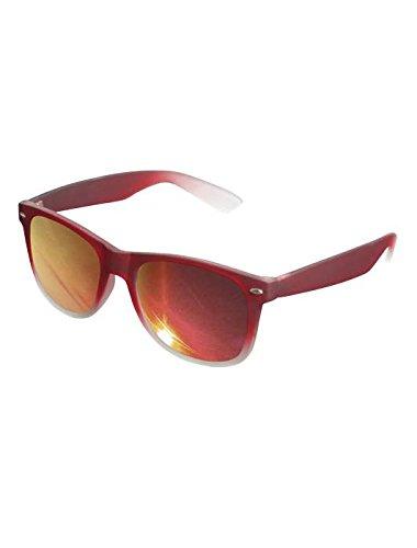 Masterdis Mstrds Likoma Sunglasses Fade Mirror UV400 Occhiali da Sole Colore red/red