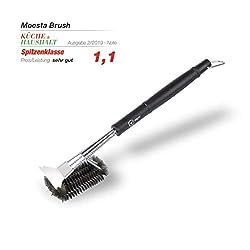 Moesta-BBQ Brush No. 1 - Die 100% Edestahlbürste unter den Grillbürsten