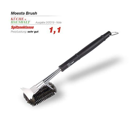 Moesta-BBQ Brush No. 1 - Die 100{4812acbc6da7a7ad35e9d35b0f7eb6fc149f43d34b6943867d149246cf8e91c2} Edestahlbürste unter den Grillbürsten