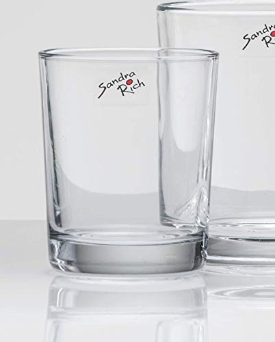 Glasvase CYLI Windlicht Vase Glas Tischvase Zylinder, 11 cm