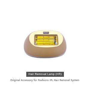 Poshions IPL Haarentfernungsgerät, Professionel Lichtimpulse Haarentfernung für Frauen/Männer, mit 5 Intensitätsstufen und 400.000 Lichtimpulsen für Körper, Gesicht und Bikinizone