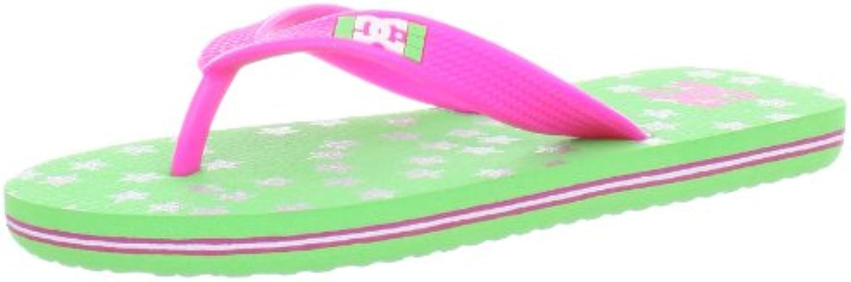 DC Jugend B Basic Spray Sandal EUR: 36 Crazy Pink/White