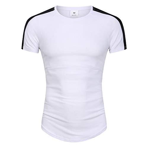 Waotier Cmaiseta De Manga Corta para Hombre Camiseta De...