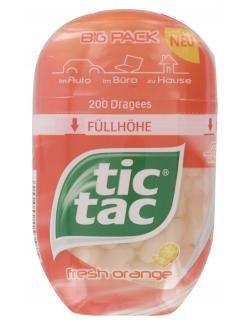 tic tac fresh orange Big Pack