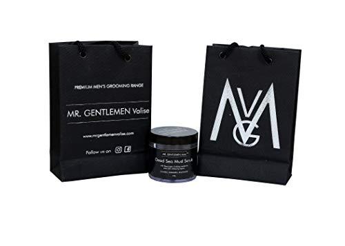 Mr. Gentlemen Valise - Dead Sea Mud Scrub - Cleanses | Energizes | Rejuvenates - Facial Scrub 100g