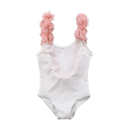 Bañador de Natación de una Pieza para Bebé Niñas, Bebes Niñas Infantil bañador de Piscina Monokini...