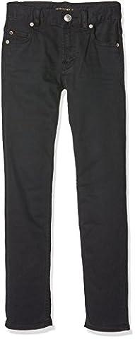 Pantalon Toile Garcon - Quiksilver Distortion Jean Garçon Noir FR :