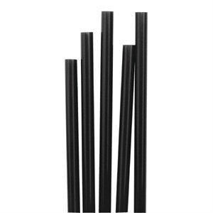13.97 cm Memphis Slim Cocktailspieße Strohhalm in Schwarz, 1000 Stück