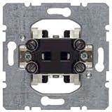 Berker Hager-Mechanismus Taster 1T + 2Borne Wippschalter 10A/250V