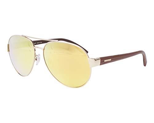 Chopard Sonnenbrillen (SCH-B-35-V 300G) gold - bedruckt braun - grau mit gold verspiegelt effekt