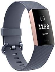 Fitbit Charge 3 - Bracelet d'activité Forme et Sport : Jusqu'à 7 Jours d'autonomie et Étanche