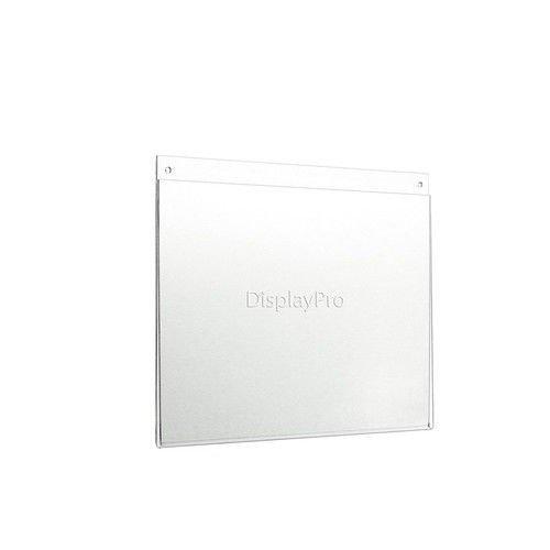 Displaypro–Marcos 5x A4horizontal acrílico pantalla de cartel–envío gratuito.