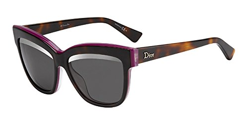 Dior 3C4 Tortoise Diorgraphic Cats Eyes Sunglasses Lens Category 3