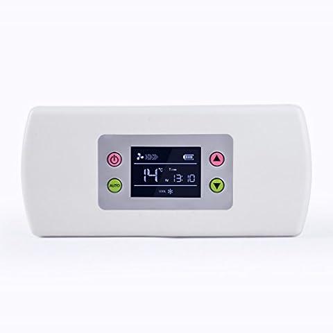 HOMEE @ Voiture Petit Réfrigérateur Chargeur D'Insuline Boite Réfrigérée Boîte à Outils Portable Mini Congélateur,Blanc,La norme