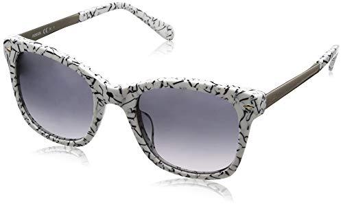 Fossil Damen Fos 2086/S Sonnenbrille, Mehrfarbig (Blk Marbl), 51
