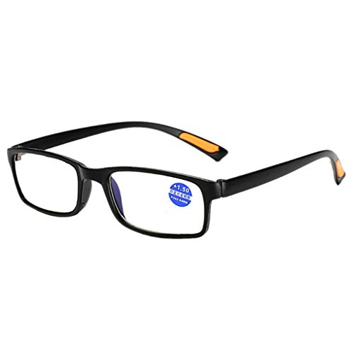 Junecat Männer Frauen Multi Kraft Lesebrillen quadratischen Rahmen Ultra Presbyopie Dioptrienbrill