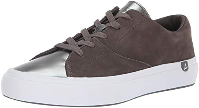 Sperry Top-Sider Wouomo Haven Lace Up Metallic scarpe scarpe scarpe da ginnastica, grigio argento, 6.5 M US | marchio  3c4c37