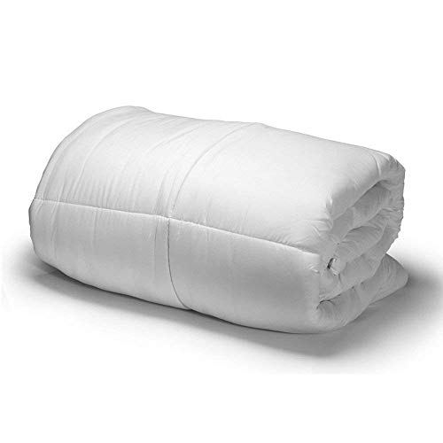 Amazinggirl Hypoallergen Ganzjahresdecke 135X200cm Weiß Bettdecke aus Microfaser für allergiker...