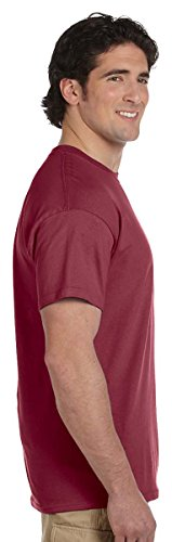 Hanes Mens ComfortBlend EcoSmart Crewneck T-Shirt, Sand Light Steel