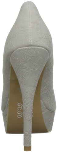 Iron Fist  Maneater Platform, Chaussures à talons femme Beige - Nude