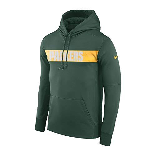 Hoodie PO Sweatshirt, Herren, Mehrfarbig (FIR/FIR/University Gold) ()
